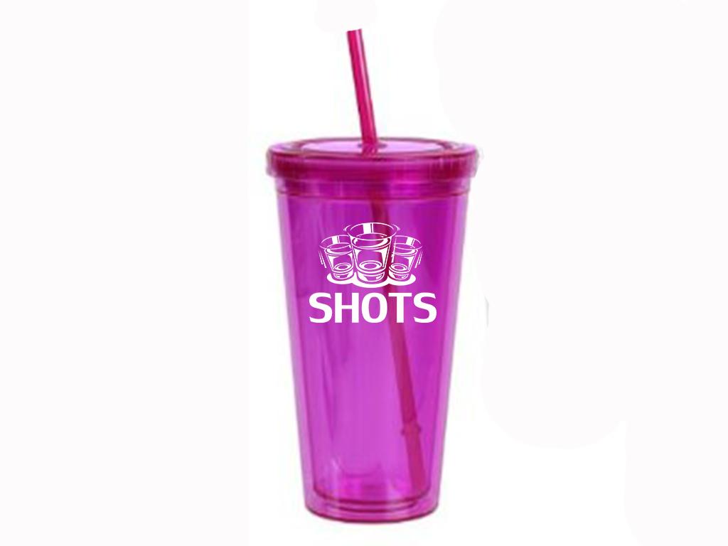 Pink SHOTS Signature Cup
