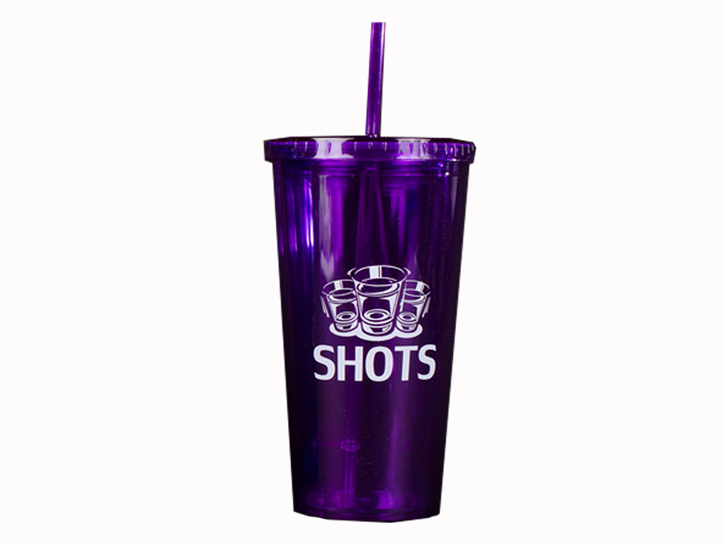 Purple SHOTS Refillable Cup