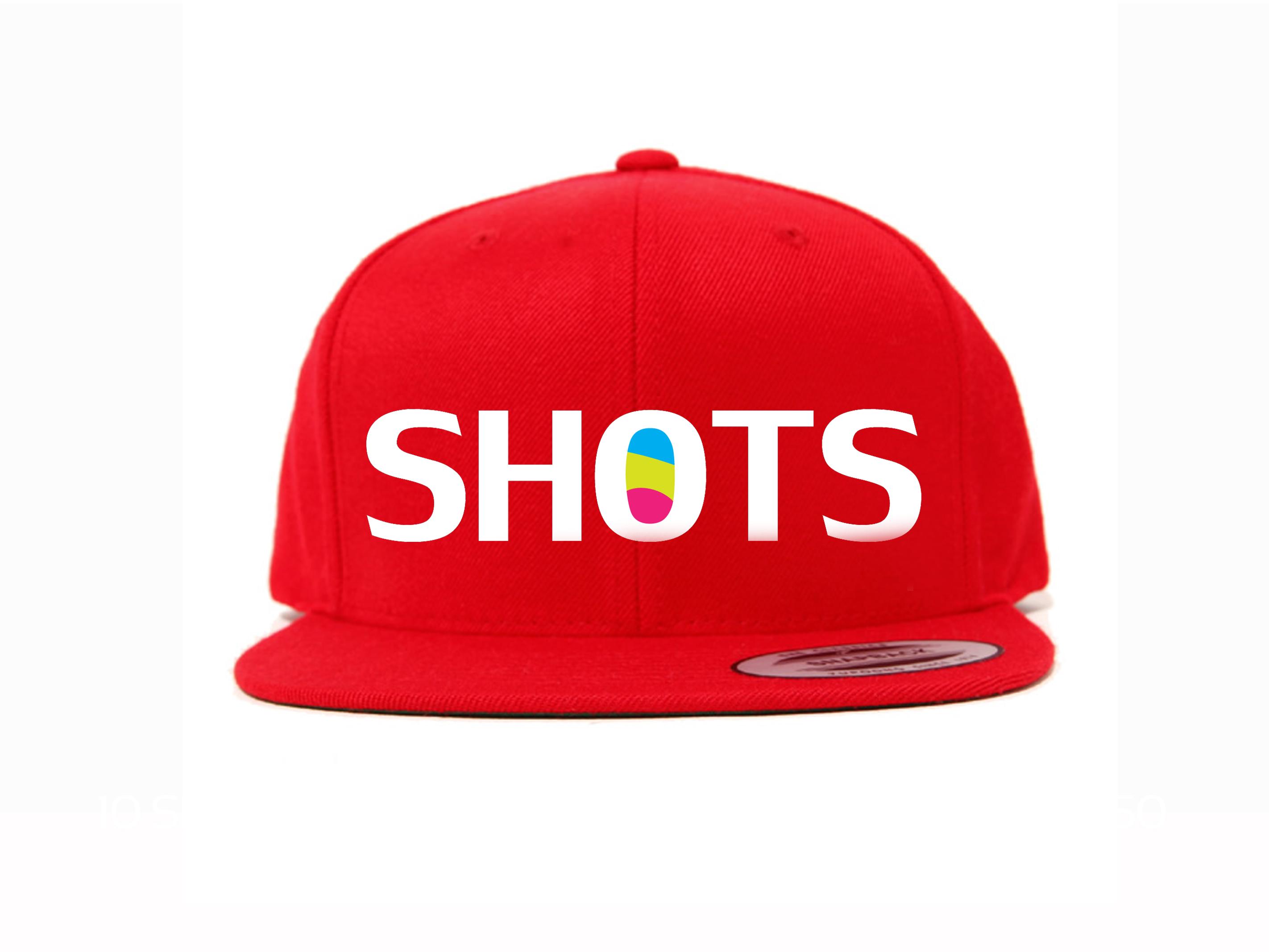 Red SHOTS Snapback
